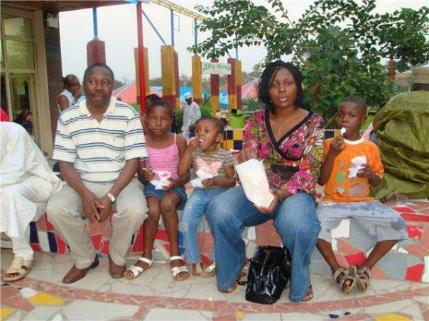 Onukaba and family
