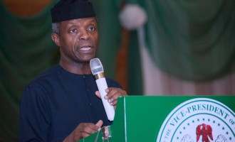 Osinbajo: Cheating often done with the collusion of parents, teachers