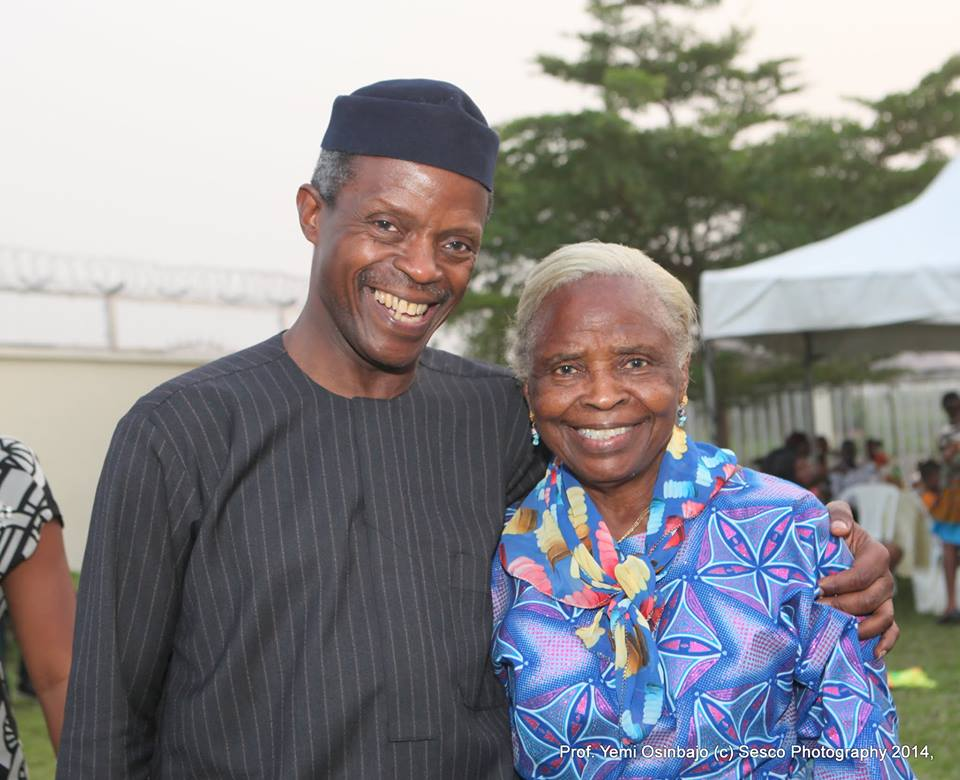 Osinbajo and Mother 2