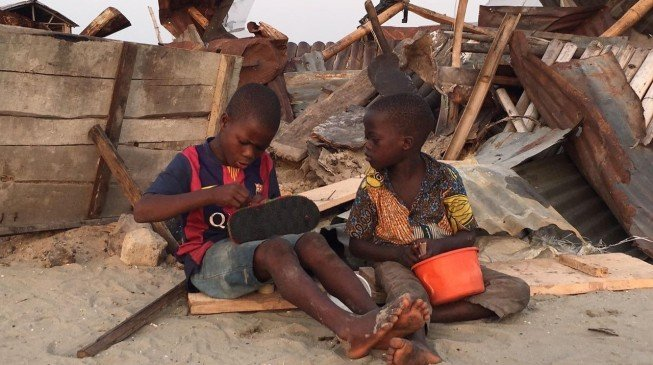 Children bearing the brunt of Otodo Gbame demolitions