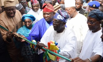 Tinubu: I was worried when Ambode took over but he has made me proud
