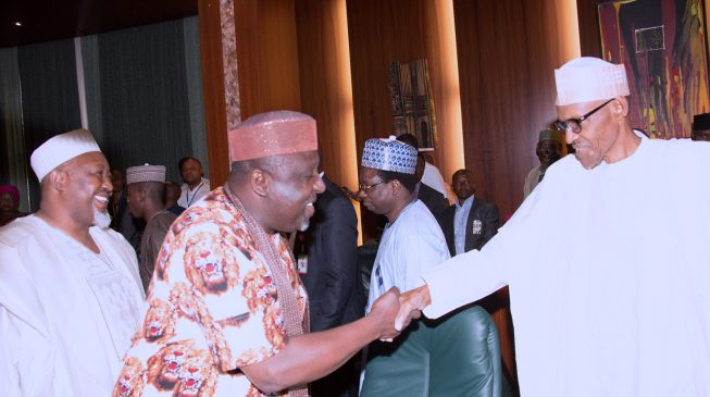 Okorocha: All APC govs have endorsed Buhari for 2019