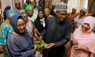 Zahra and Aisha Buhari as fashionable Aso Rock clinic critics