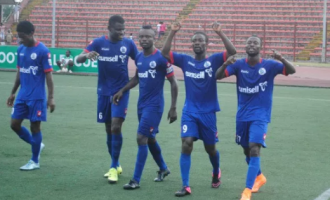 Rivers United defeat KCCA of Uganda in CAF Confederation Cup