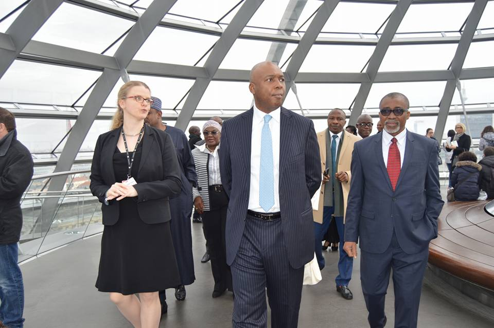 Saraki, Abaribe in Germany