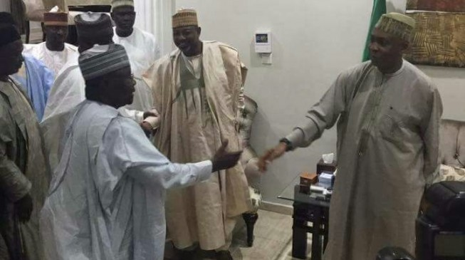 Shettima leads delegation to Saraki over Ndume's suspension