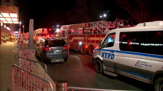 fire breaks trump international hotel tower