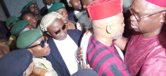 Judge grants Kanu N100m bail, bars him from granting interview