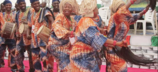 PHOTOS: African Drums Festival kicks off in Abeokuta