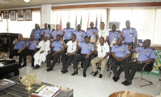 Fadeyi foundation partners police in fight against corruption