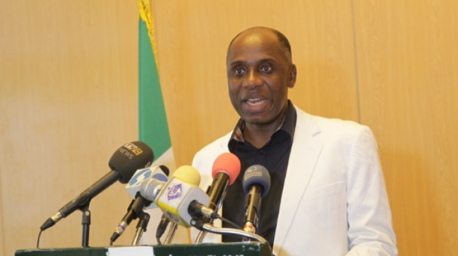 Amaechi: Wike thinks about me even when he's in toilet