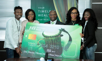 BB Naija finalists visit Heritage Bank