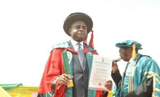 Odumegwu Ojukwu University honours Moghalu, ex dep gov of CBN