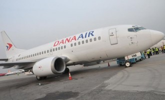 Dana aircraft loses engine mid-air, makes emergency landing in Lagos