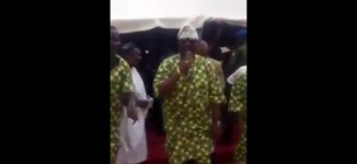 EXTRA: In new video, Melaye 'performs with live band'