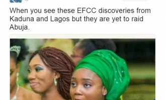 'We are doing hide and seek with dollars'… How Nigerians reacted to EFCC Ikoyi house raid