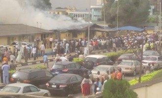 Fire outbreak at FAAN headquarters