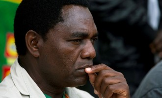 Zambia's opposition leader charged with treason