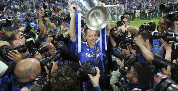 22 photos from John Terry's amazing years at Chelsea