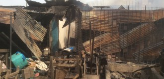 Shops burnt, property looted as 'thugs' clash in Mushin
