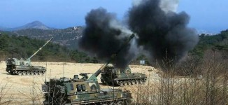 N'Korea conducts large-scale firing drill to show strike power