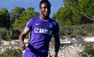 Mikel Obi scores first goal in Chinese Super League