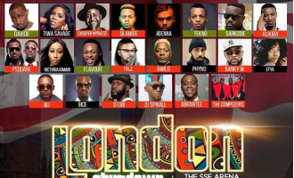 Africa's biggest artistes to storm London in May