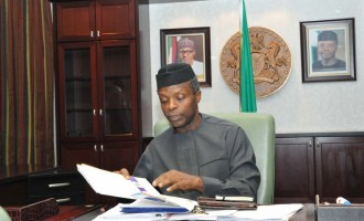 Apapa port to run 24/7, MDAs must buy made in Nigeria — highlights of Osinbajo's executive orders