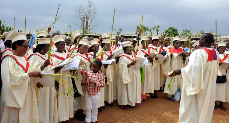 Palm Sunday mass in Abuja