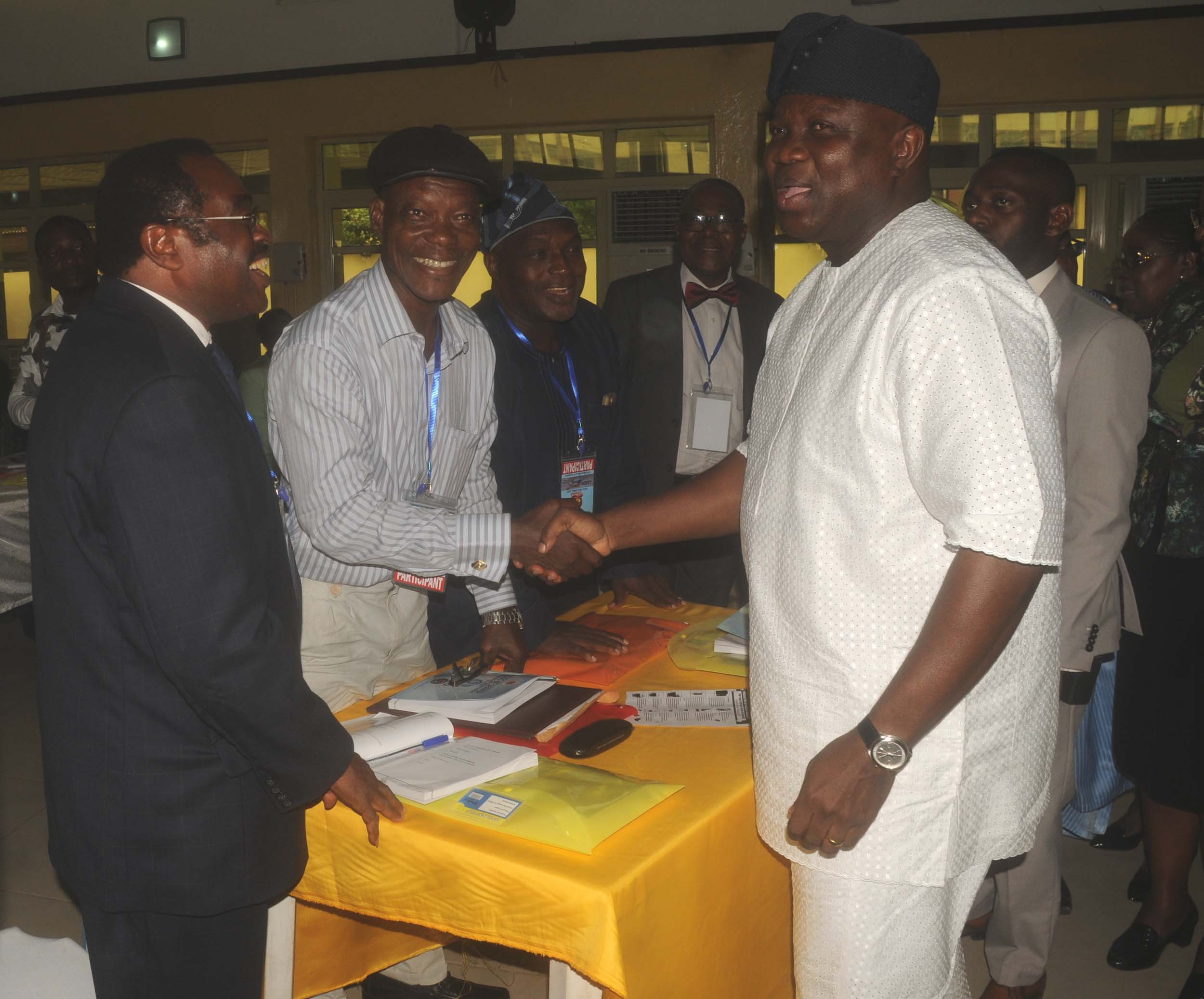 PIC. 18. 3RD SUMMIT OF THE ASSOCIATION OF LAGOS STATE RETIRED HEAD OF SERVICE AND PERMANENT SECRETARIES IN LAGOS
