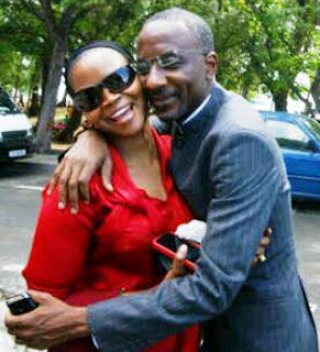Sanusi CBN with wife