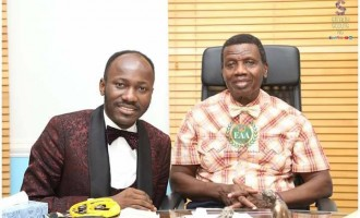 Adeboye hosts Suleman at Redemption Camp