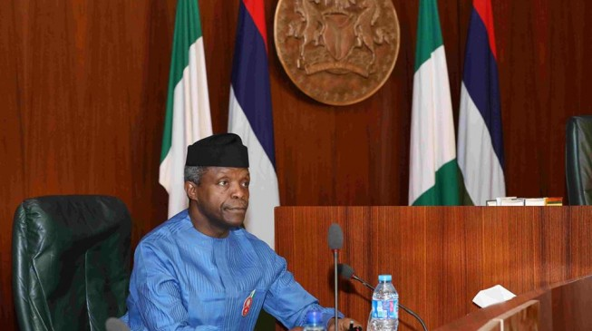 Osinbajo meets Magu, IGP, DSS DG at Aso Rock