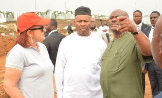 Akpabio: Wike has executed more projects than Buhari's govt