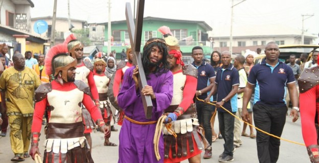 Celebration of Good Friday in Lagos