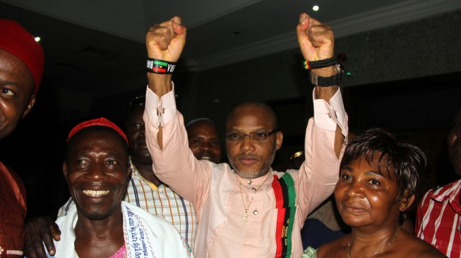Nnamdi kanu released after 18 months in prison