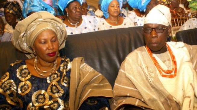 Obasanjo's ex-wife: God aborted  3rd term bid of my former husband… He'll stop Buhari in 2019