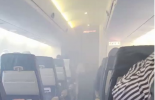 VIDEO: Passengers panic as smoke engulfs 'Lagos-bound' aircraft
