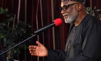 Akeredolu begs investors to leave 'traffic-ridden' Lagos and come to Ondo