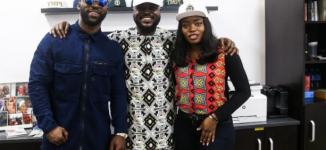 BBNaija's Bisola joins Iyanya, 9ice at Temple Management
