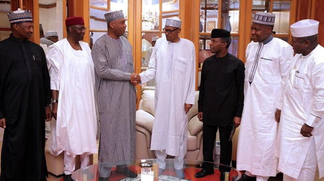 Just In: Buhari jets out for medical check