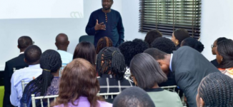 PHOTOS: Young Nigerians get trained on leadership, entrepreneurship