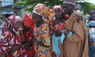 Tears, ecstasy as 82 freed Chibok girls meet their parents