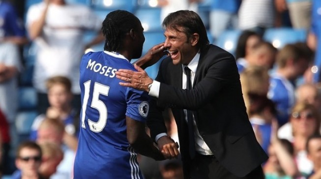 Conte on FA Cup final: Moses was exhausted, he didn't dive intentionally