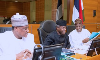 Osinbajo has been doing well, says defence minister