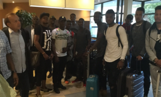 Echiejile, Alampasu, NPFL stars arrive Corsica for Eagles friendly
