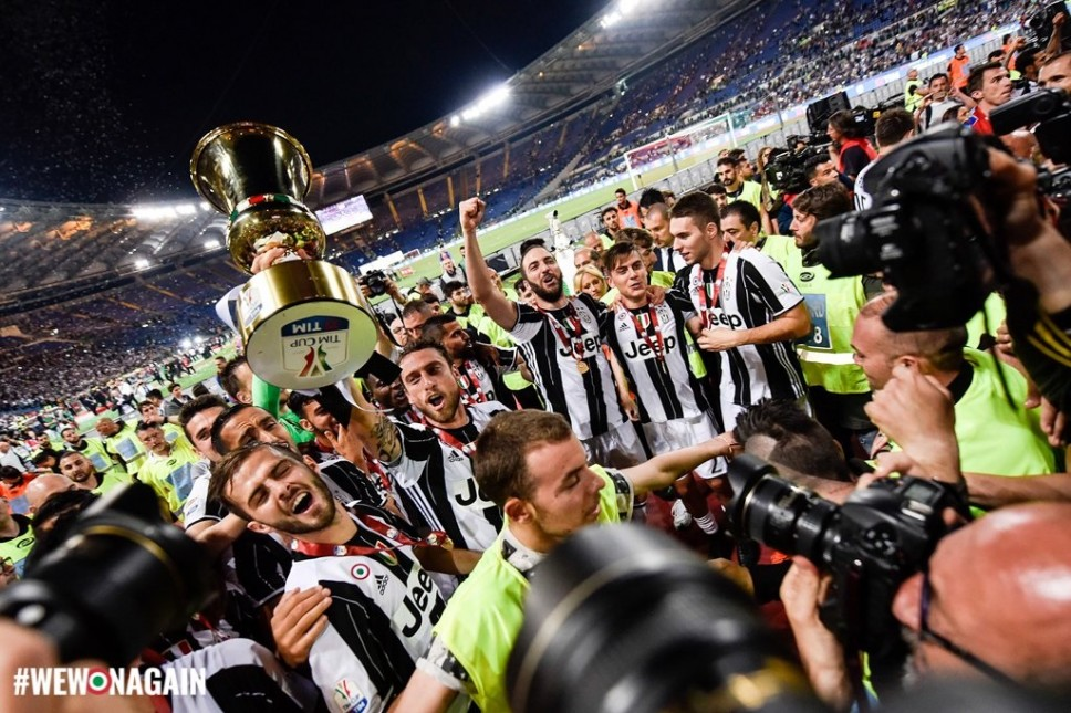 Juventus win third Coppa Italia final as Monaco clinch eighth French league title