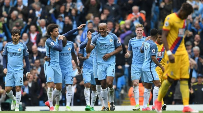 Iheanacho gets cameo as City crush Palace 5-0