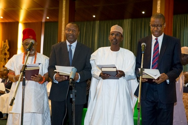 Ngige-and-other-ministers-taking-oath