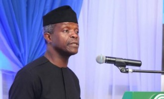 We spent much of 2016 clearing PDP mess, says Osinbajo
